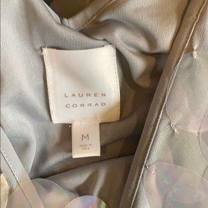 LC Lauren Conrad Dresses - LAUREN CONRAD IRIDESCENT SHIFT DRESS